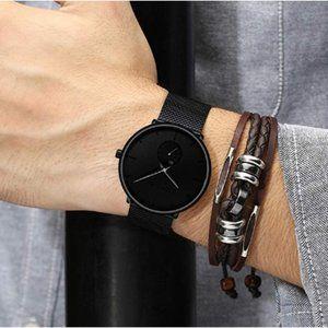 Men's Quartz Wrist Watch